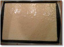 Etaler l'appareil sur une plaque de cuisson